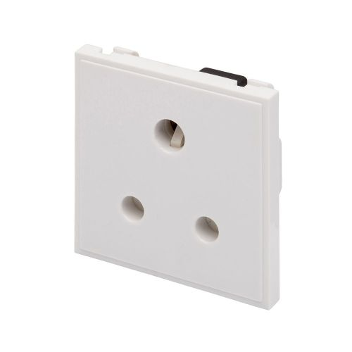 RT 5A Socket (50mmX50mm) White 09022